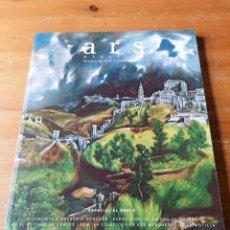 Livres d'occasion: ARS MAGAZINE. N. 22. REVISTA ARTE Y COLECCIONISMO. Lote 204382007