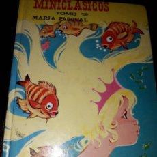 Libros de segunda mano: LIBRO 1332 MINICLASICOS TOMO 12 MARIA PASCUAL. Lote 204484766