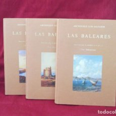 Livros em segunda mão: LAS BALEARES-DIE BALEAREN-(MALLORCA,MENORCA,IBIZA).ARCHIDUQUE LUIS SALVADOR. OLAÑETA. 1984.. Lote 204512465