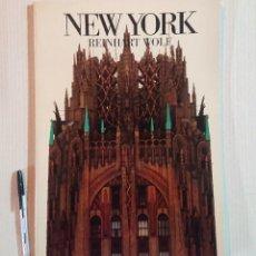 Libros de segunda mano: NEW YORK EN FOTOGRAFÍAS DE REINHART WOLF · TASCHEN. Lote 204656746