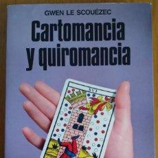 Libros de segunda mano: CARTOMANCIA Y QUIROMANCIA. GWEN LE SCOUÉZEC. Lote 204672133