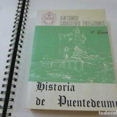 Livros em segunda mão: HISTORIA DE PUENTEDEUME -ANTONIO COUCEIRO FREIJOMIL - AÑO 1981 - N 8. Lote 204694741