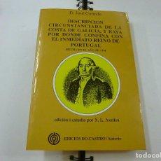 Libri di seconda mano: DESCRIPCIÓN CIRCUNSTANCIADA DE LA COSTA DE GALICIA -JOSE CORNIDE - N8... Lote 204701841