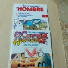 Libros de segunda mano: DOS LIBROS DE TEMÁTICA INFANTIL, LOS DE LA FOTO. Lote 204722995