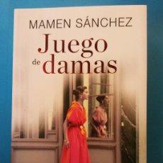 Libros de segunda mano: JUEGO DE DAMAS. MAMEN SÁNCHEZ. EDITORIAL ESPASA.. Lote 204743367