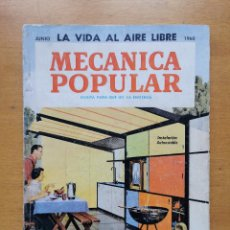 Libros de segunda mano: REVISTA MECANICA POPULAR - JUNIO 1960 - 23CM X 16.5CM - PEDIDO MINIMO TOTAL DE ENVIO 6€. Lote 204761422