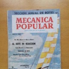 Libros de segunda mano: REVISTA MECANICA POPULAR - MAYO 1960 - 23CM X 16.5CM - PEDIDO MINIMO TOTAL DE ENVIO 6€. Lote 204762283