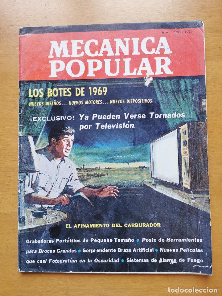 REVISTA MECANICA POPULAR - JUNIO 1969 - 27.5CM X 21CM - PEDIDO MINIMO TOTAL DE ENVIO 6€ (Libros de Segunda Mano - Ciencias, Manuales y Oficios - Otros)
