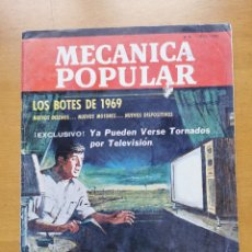 Libros de segunda mano: REVISTA MECANICA POPULAR - JUNIO 1969 - 27.5CM X 21CM - PEDIDO MINIMO TOTAL DE ENVIO 6€. Lote 204768217