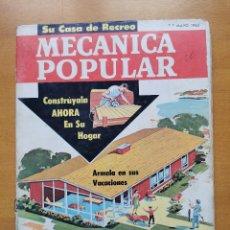 Libros de segunda mano: REVISTA MECANICA POPULAR - MAYO 1962 - 27.5CM X 21CM - PEDIDO MINIMO TOTAL DE ENVIO 6€. Lote 204769151