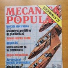 Libros de segunda mano: REVISTA MECANICA POPULAR - AGOSTO 1978 - 27.5CM X 21CM - PEDIDO MINIMO TOTAL DE ENVIO 6€. Lote 204769696