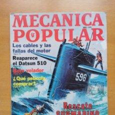 Libros de segunda mano: REVISTA MECANICA POPULAR - ABRIL 1978 - 27.5CM X 21CM - PEDIDO MINIMO TOTAL DE ENVIO 6€. Lote 204769717
