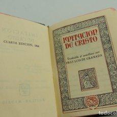 Libros de segunda mano: IMITACIÓN DE CRISTO CRISOLÍN N.º 57 BIS EL MÁS EXTRAORDINARIO DE LA COLECCIÓN - - CRISOL-AGUILAR. Lote 204775616