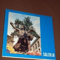 Libros de segunda mano: SALZILLO. SU ARTE Y SU OBRA EN LA PRENSA DIARIA. VV AA. ESCULTURA, SEMANA SANTA, PASOS. VER SUMARIO.. Lote 204798495