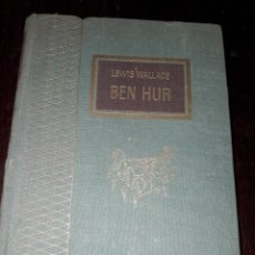 Libros de segunda mano: LIBRO 2020 BEN HUR LEWIS WALLACE TESORO VIEJO EDICIONES RODEGAR 1963. Lote 204813426