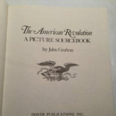 Libros de segunda mano: THE AMERICAN REVOLUTION - A PICTURE SOURCEBOOK- 1975- 153 PÁGINAS. Lote 204981248