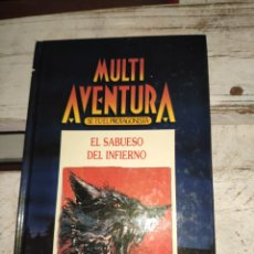 Libros de segunda mano: LIBRO JUEGO DE MULTI AVENTURA SE TU EL PROTAGONISTA LIBRO JUEGO INGELEK JUVENIL. Lote 200392385