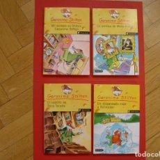 Libros de segunda mano: LOTE 4 COMICS. GERÓNIMO SILTON -NºS. 1, 4, 5 Y 7- (DESTINO -ED. PLANETA-, 2004-07) ORIGINALES. Lote 205075158