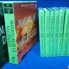 Livres d'occasion: NATURALEZA Y VIDA COLECCIÓN COMPLETA, 7 TOMOS Y 20 LÁSER DISC, COMO NUEVOS MUCHOS PRECINTADOS.. Lote 205134815