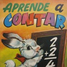 Livros em segunda mão: APRENDE A CONTAR. EDITORIAL VASCO AMERICANA. Lote 205139616