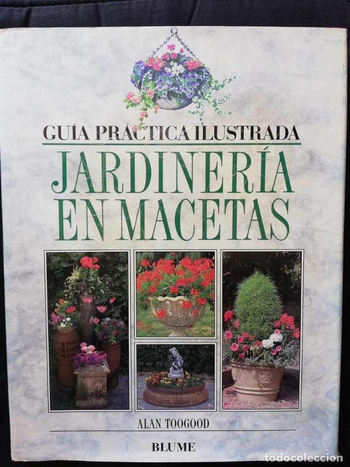 JARDINERÍA EN MACETAS - GUÍA PRÁCTICA ILUSTRADA ALAN TOOGOOD (Libros de Segunda Mano - Ciencias, Manuales y Oficios - Otros)