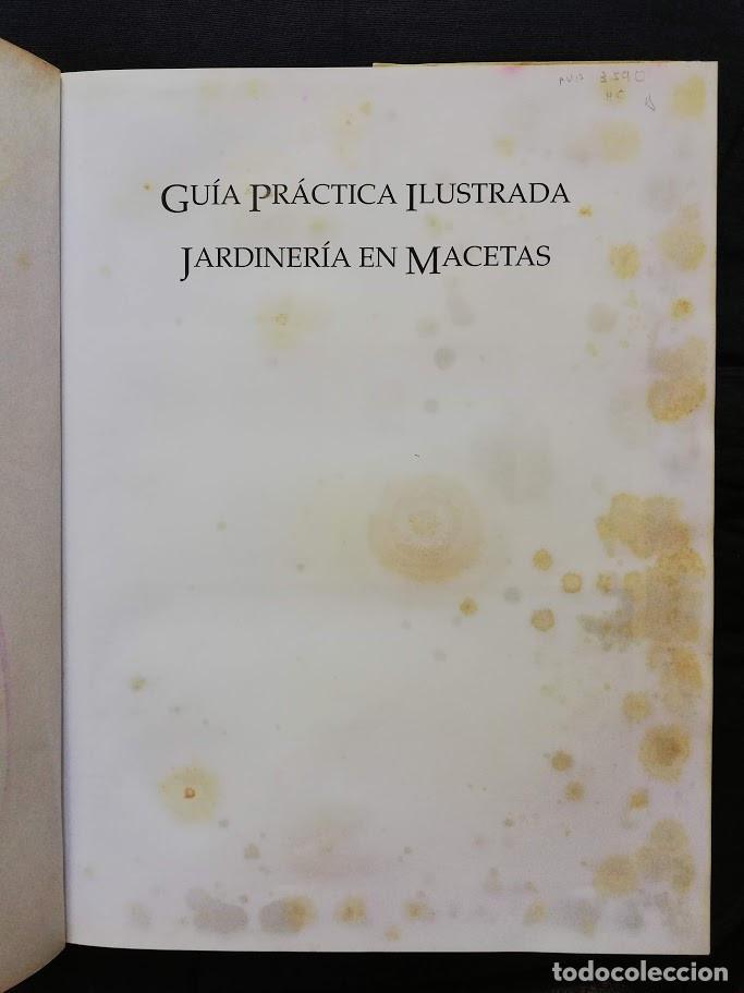 Libros de segunda mano: JARDINERÍA EN MACETAS - GUÍA PRÁCTICA ILUSTRADA Alan Toogood - Foto 2 - 205145757