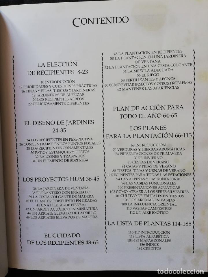Libros de segunda mano: JARDINERÍA EN MACETAS - GUÍA PRÁCTICA ILUSTRADA Alan Toogood - Foto 4 - 205145757