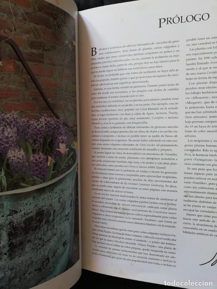 Libros de segunda mano: JARDINERÍA EN MACETAS - GUÍA PRÁCTICA ILUSTRADA Alan Toogood - Foto 5 - 205145757