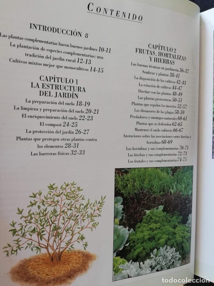Libros de segunda mano: JARDÍN Y ARMONÍA - ESPECIES COMPLEMENTARIAS - RICHARD BIRD - Foto 2 - 205146545