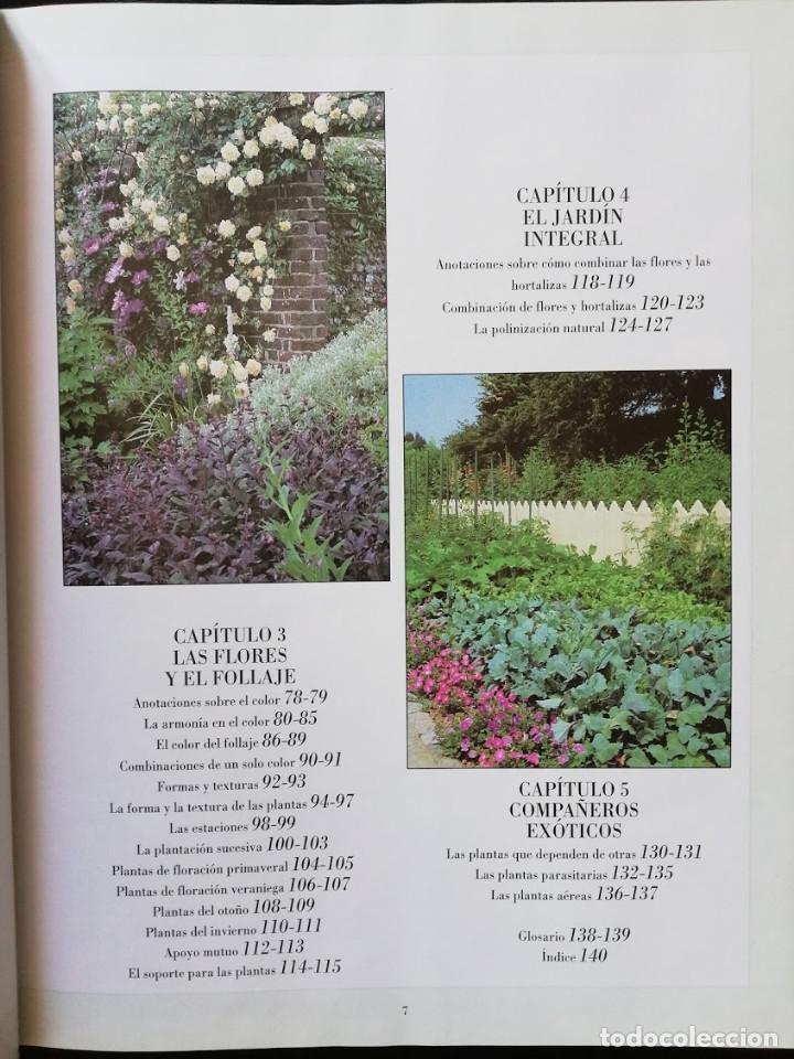 Libros de segunda mano: JARDÍN Y ARMONÍA - ESPECIES COMPLEMENTARIAS - RICHARD BIRD - Foto 3 - 205146545