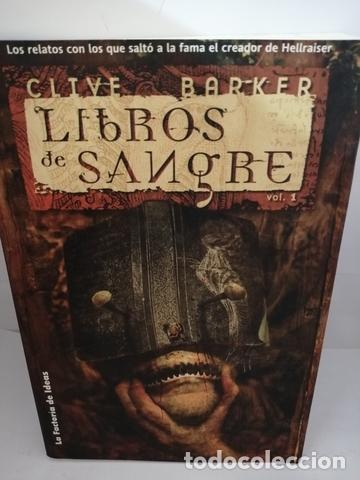 LIBROS DE SANGRE. VOL. 1. BARKER, CLIVE (Libros de Segunda Mano (posteriores a 1936) - Literatura - Otros)