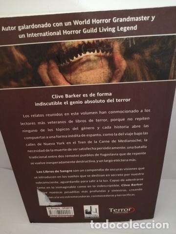 Libros de segunda mano: LIBROS DE SANGRE. VOL. 1. BARKER, CLIVE - Foto 2 - 205148175