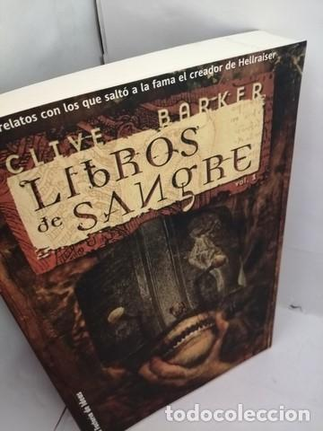 Libros de segunda mano: LIBROS DE SANGRE. VOL. 1. BARKER, CLIVE - Foto 3 - 205148175