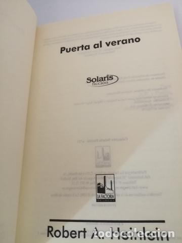 Libros de segunda mano: PUERTA AL VERANO DE ROBERT A. HEINLEIN - Foto 4 - 205148821