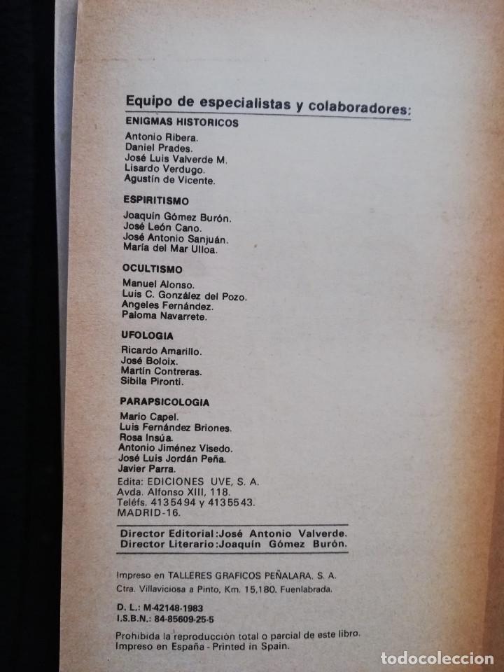 Libros de segunda mano: LOS ENIGMAS PENDIENTES - COLECCION DIRIGIDA POR DR. JIMÉNEZ DEL OSO - Foto 3 - 205179656