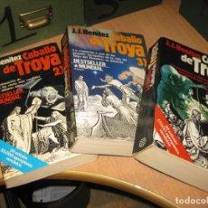 Libros de segunda mano: 3 LIBROS DE CABALLO DE TROYA.. Lote 205284036