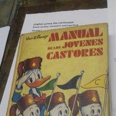 Libri di seconda mano: MANUAL DE LOS JOVENES CASTORES. MONTENA 1977. Lote 205293221