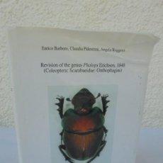 Libros de segunda mano: REVISION OF THE GENUS PHALOPS ERICHSON, 1848 COLEOPTERA: SCARABAIDE: ONTHOPHAGINI. ENRICO BARBERO.. Lote 205315363