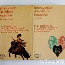 Libros de segunda mano: INTRODUCCIÓN A LA CULTURA HISPÁNICA (I-II).- P.E. RUSSELL, ED.(1982). Lote 205444428