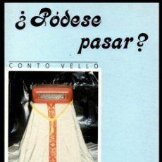 Libros de segunda mano: XOSE MARIA GOMEZ VILABELLA. LUGO. CASTROVERDE. PODESE PASAR ?. ED. BERLAN 1991. GALICIA.. Lote 205538273
