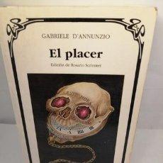 Libros de segunda mano: EL PLACER (LETRAS UNIVERSALES). Lote 205559158