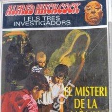 Libros de segunda mano: ANTIGÜO LIBRO DE ALFRED HITCHCOCK - EL MISTERI DE LA MOMIA - EN CATALÁN. Lote 205584987