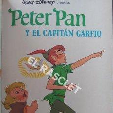 Libros de segunda mano: ANTIGÜO LIBRO DE WALT DISNEY - PETER PAN Y EL CAPITAN GARFIO. Lote 205585372