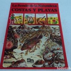 Libros de segunda mano: LIBRO LA SENDA DE LA NATURALEZA COSTAS Y PLAYAS EDICIONES PLESA ANIMALES JUVENIL. Lote 205588341