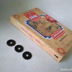 Libros de segunda mano: I CHING. EL LIBRO DE LOS CAMBIOS. INCLUYE 3 MONEDAS CHINAS.. Lote 205603352