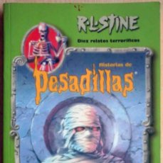 Libros de segunda mano: HISTORIAS DE PESADILLAS EDICIÓN ESPECIAL Nº 2 (R.L. STINE) 10 RELATOS TERRORÍFICOS. Lote 205606678