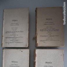 Libros de segunda mano: HISTORIA DE ESPAÑA Y DE LAS AMERICAS 4 TOMOS SIN CUBIERTAS VER FOTOS NO ESTA COMPLETA. Lote 205610407