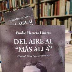 """Libros de segunda mano: DEL AIRE AL """"MÁS ALLÁ"""". - HERRERA LINARES, EMILIO (1879-1967).. Lote 205612812"""