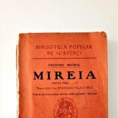 Libros de segunda mano: LIBRO POEMA PROVENZAL MIREIA.. Lote 205644596