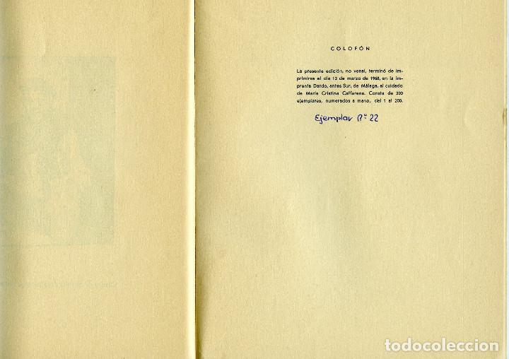 Libros de segunda mano: ENRIQUE MAPELLI RAGIO=APUNTES MALAGUEÑOS (DIBUJOS)-VER FOTOS ADICIONALES DE ESTE LIBRO, - Foto 8 - 205657142